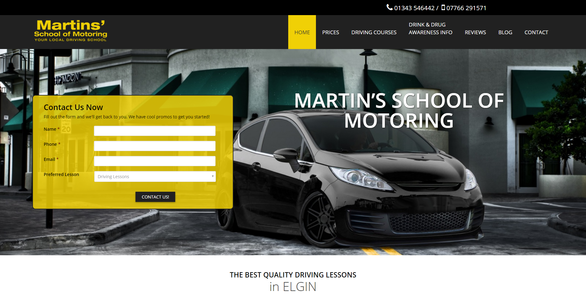 Martin School of Motoring